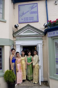 Siam Thai Lounge - Eating Out in new forest from Forest Gate Lodge Bed and Breakfast New Forest